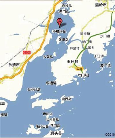 温岭方山风景区地图