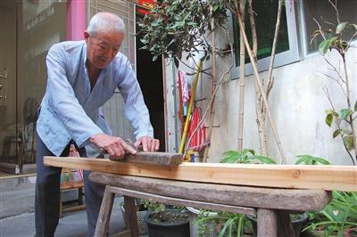 孙国育:老木匠de手艺人生
