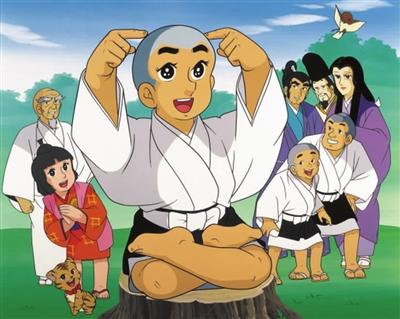 由日本现今炙手可热的童星铃木福出演的一休