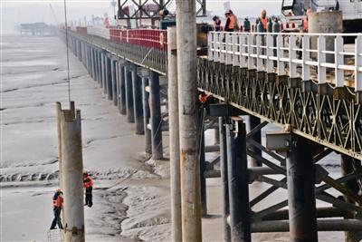 今日玉环数字报刊平台-乐清湾大桥一号桥有望6月底